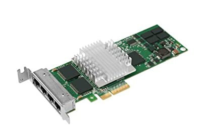 Intel EXPI9404PTL PRO/1000 PT Quad Port Server Adapter - Network adapter - PCI Express x4 low profile - Gigabit Ethernet x 4