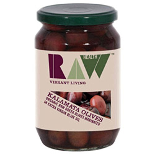 Raw Health - Olives - Kalamata in Extra Virgin Olive Oil - 330g