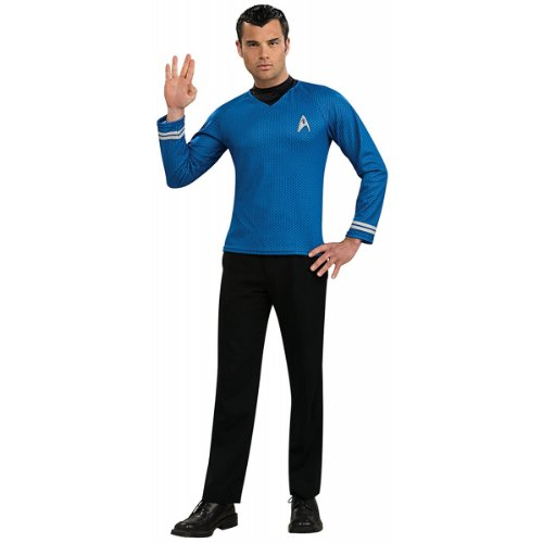 Star Trek Movie Blue Shirt, Adult Medium -