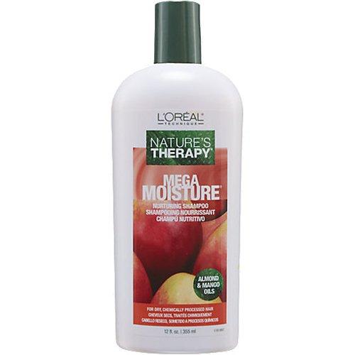 Loreal Natures Therapy Shampoo Mega Moisture 12 Ounce (354ml) Loreal Red Shampoo