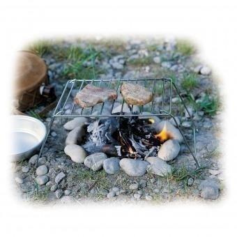 Klappgrill Basic - Einfacher Grill für spontane