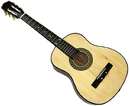 Guitarra acústica de 6 cuerdas directamente barata, natural + ...