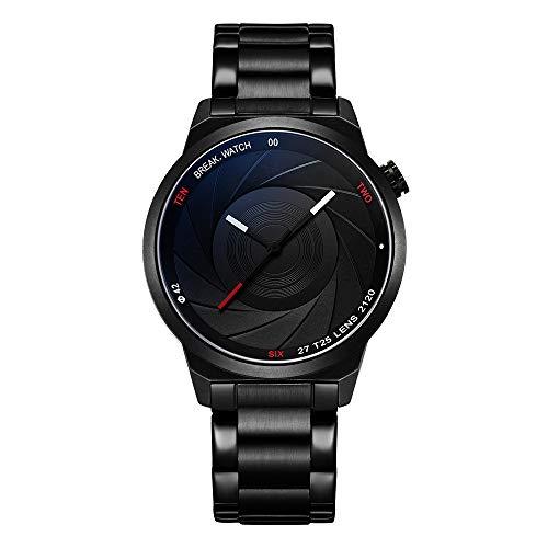 BREAK Unique Fashion Creative Watches Men Women Unisex Design Photographer Series Watch Waterproof Analog Stainless Steel Wristwatch