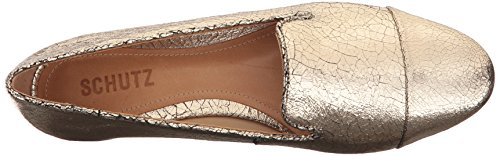 SCHUTZ Women's Nilse Loafer Platina recommend for sale Bh1ja