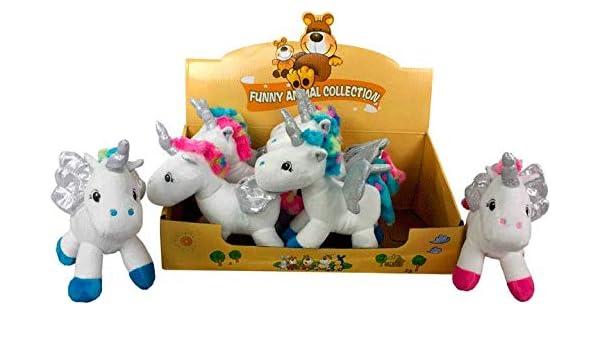DISOK - Set de 8 Peluches de Unicornio, Surtido en Color ...