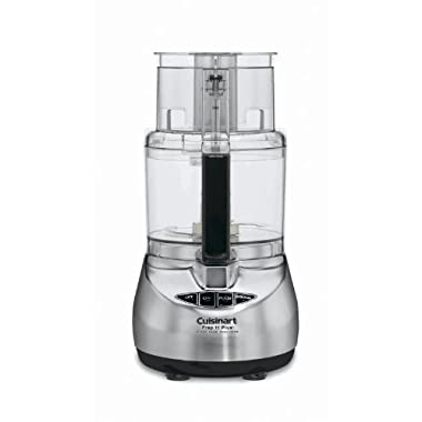 Cuisinart DLC-2011CHB Prep 11 Plus 11-Cup Food Processor, Brushed Stainless DISCONTINUED BY MANUFACTURER