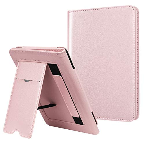Fintie Stand Case for All-New Kindle (10th Generation, 2019) / Kindle (8th Generation, 2016) - Premium PU Leather Protective Sleeve Cover with Card Slot and Hand Strap