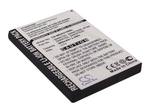 Battery2go - 1 year  - 3.7V Battery For MOTOROLA SNN5782,...
