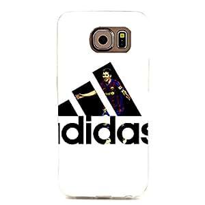 Simple Fashion Adidas Logo Phone Case cover for Samsung Galaxy S6 Edge Adidas Series 3D