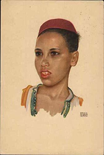 Moroccan Native Africa Morocco Original Vintage Postcard