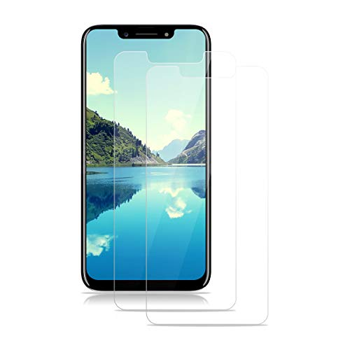 Screen Protector for Blu Vivo One Plus 2019 Tempered Glass Screen Protector 2-Pack HD 2.5D 9H Protective Film Protection Anti-Fingerprint Bubble-Free Glass Protector for Blu Vivo One Plus 2019