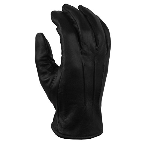 Men's Motorcycle Cowhide Leather Gloves Lined GL2056 XS