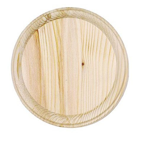 Round Plaque, 5-Inch Perfect for Craft Projects! Pack of 2 ()