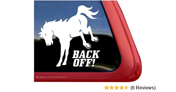 2 Cowboy on Horse Vinyl Decal//Sticker Bucking Free Post - Wall//Laptop//Car