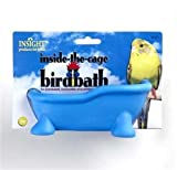 JW Pet Company Insight Inside the Cage Bird Bath Bird Accessory (colors may vary), My Pet Supplies