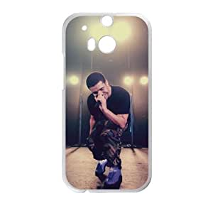 HTC One M8 Case White Drake Cell Phone Case Cover R2O2MD