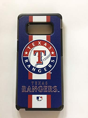 Prime Brands Pebble Series Stripe Case for Samsung Note 8 MLB Texas Rangers