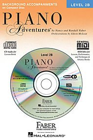 Piano Adventures - Level 2B Lessons Book CD
