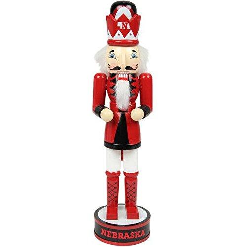 "2014 NCAA College 14"" Team Holiday Nutcracker - Pick Team (Nebraska Huskers)"