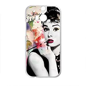 Audrey Hepburn Brand New And Custom Hard Case Cover Protector For HTC One M8