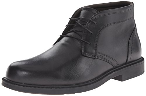 Dunham Mens Johnson Chukka Laars Zwart