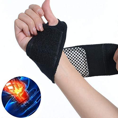 IEnkidu Self-Adhesive Magnetic Therapy Self-Heating Wristband Sports Hand Protection