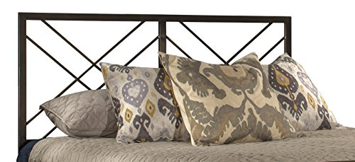 Hillsdale Furniture Headboard in Magnesium Pewter Finish (Twin:63.75 in. W x 39 in. D x 52.25 in. H(25 lbs.)) (Magnesium Pewter Finish)