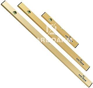 Comomingo 300MM einstellbare Kombination rechteckiges Winkellineal 45//90 Grad mit Wasserwaage Silber