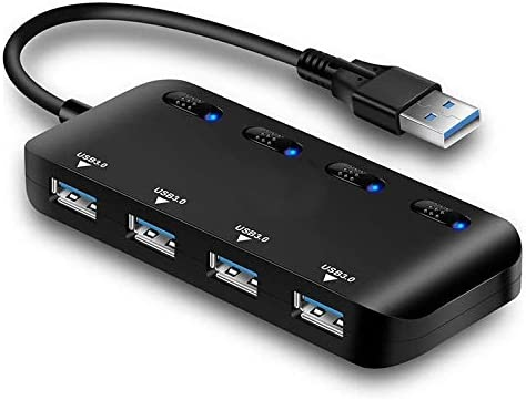 Computer Accessories Ultra Speed USB3.0 4 Port Hub with Switch