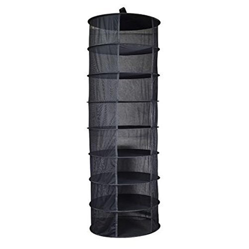 Grow Pro 8 Tier Hanging Flower Plant Drying Cure Quick Herb