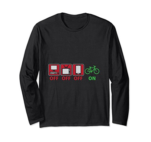 Electronics Off Biking On Outdoor Exercise Long Sleeve