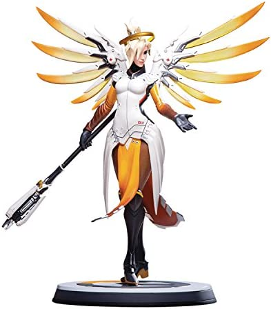 Blizzard Entertainment MAR188055 Blizzard Over Watch, Mercy 12 Resin Statue