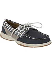 Sperry Intrepid Leather Boat Shoe, 6.5, Blue