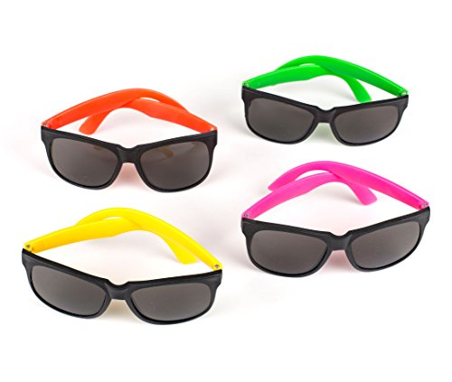 Review Neon Party Novelty Sunglasses