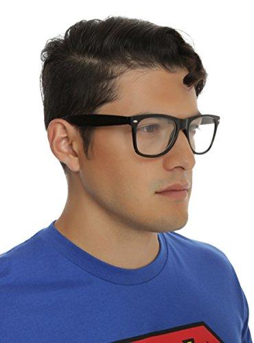 Nerd Glasses Black -
