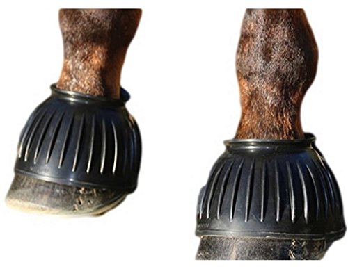 41aUfK7L2cL - Professionals Choice Pull On Rubber Bell Boots