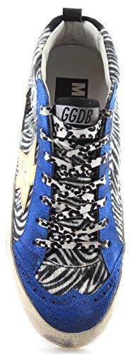 Golden Goose Damen Schuhe Sneakers Mid / Star G26d250d2 Ice Zebra Stella Doro Italia