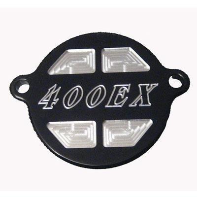 ModQuad Oil Filter Cover -400EX Logo - Black OC2-XBLK