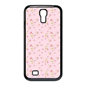 Pink Floral Brand New Cover Case for SamSung Galaxy S4 I9500,diy case cover ygtg570074