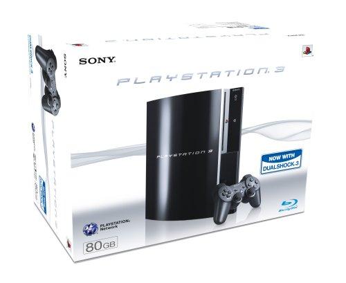 Sony PLAYSTATION 3 Console (80 GB Model)
