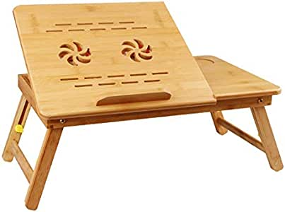 AstiVita 100% Bamboo Laptop/Computer Foldable Desk and Stand/Work Standing