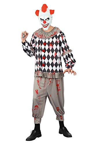 Funny Relevant Halloween Costumes (U LOOK UGLY TODAY Mens Halloween Costume Skeleton Jacket Cosplay for Adult Fancy Party Dress One Size (One Size,)