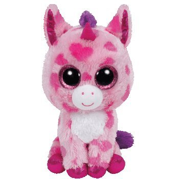 (Ty Inc Beanie Boo Plush Stuffed Animal Sugar Pie the Pink Unicorn 6