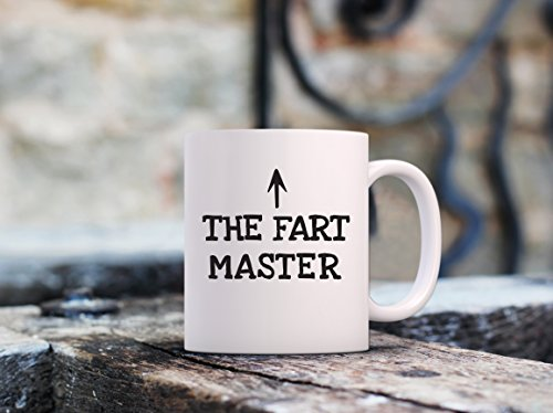 The Fart Master Funny Coffee Mug