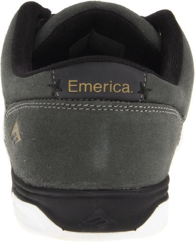 Emerica G6 6102000078 - Zapatillas de cuero para hombre Gris (Grau (dark grey/grey 160))