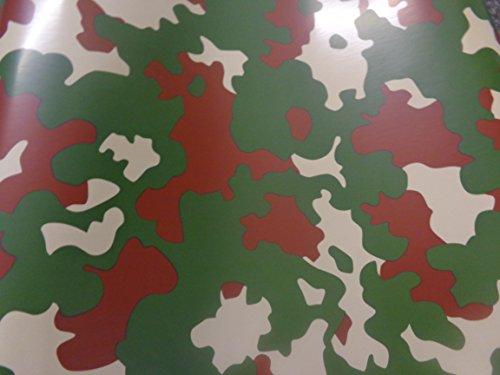 Armee Muster Camouflage Auto-Wrap Vinyl Vinyl Geschenkpapier Air Bubble gratis 30cm x 1.52m