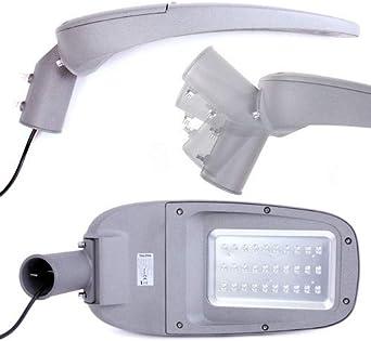 LED Straßenleuchte 230V 55W 4500lm Straßenlampe Straßenbeleuchtung Mastleuchte