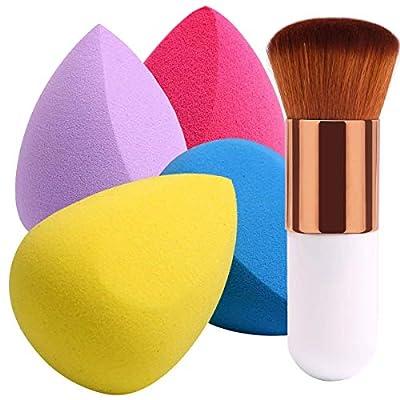 BEAKEY 4+1Pcs Makeup Sponges