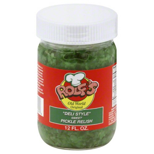 Rolfs Relish Deli Style Sweet Pickle, 12 Oz, Pack Of 6