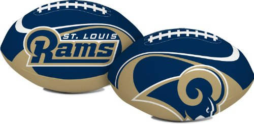 St Louis Rams NFL Collectible Soft Toy Football